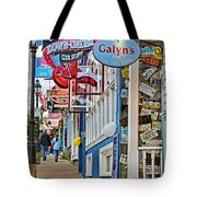 Bar Harbor Sidewalk Tote Bag