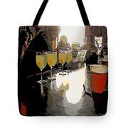 Bar Scene - Absinthe At Pirates Alley Tote Bag