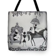 Baraat - The Wedding Procession Tote Bag