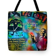 Barack And Jay Z Tote Bag