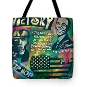 Barack And Mos Def Tote Bag
