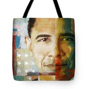 Barack Obama Tote Bag by Corporate Art Task Force