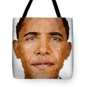 Barack Obama Tote Bag by Samuel Majcen