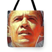 Barack Obama American President - Red White Blue Tote Bag