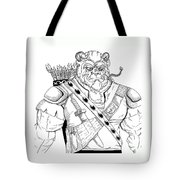 Baragh The Warrior Tote Bag