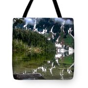 Baranof Lake Tote Bag