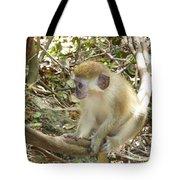 Barbados Green Monkey Tote Bag