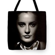 Barbara Stanwyck Early In Her Career C.1933-2014 Tote Bag