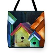 Barbara's Birdhouses Tote Bag