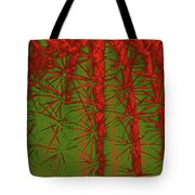 Barbed Abstract II Tote Bag