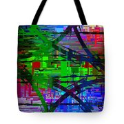 Barbed Wire Cubed 1 Tote Bag