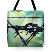 Barbed Wire Love-jealousy 2 Tote Bag