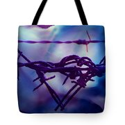Barbed Wire Love Series The Blues 2 Tote Bag