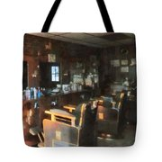 Barber - Barber Shop With Sun Streaming Through Window Tote Bag