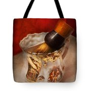 Barber - Shaving - The Beauty Of Barbering Tote Bag by Mike Savad