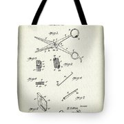 Barber Shears Patent 1927 Tote Bag