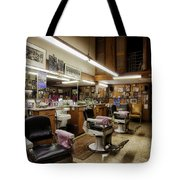 Barber Shop In Montgomery Alabama Tote Bag