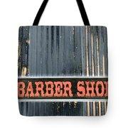 Barber Shop - Photopower Tote Bag