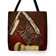 Barber - Tools For A Close Shave  Tote Bag