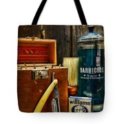 Barber - Vintage Barber Tools  Tote Bag