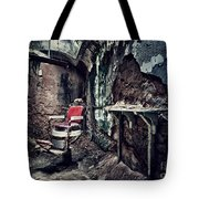 Barber's Chair Tote Bag