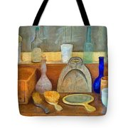 Barbers Tools Of The Trade  Tote Bag