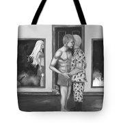 Barbies Revenge Bw Tote Bag