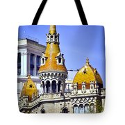 Barcelona Architecture Tote Bag