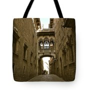 Barcelona Backstreets Tote Bag