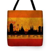 Barcelona City Tote Bag