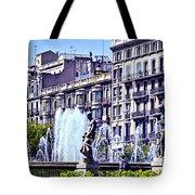 Barcelona Fountain Tote Bag