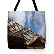 Barcelona's Marvelous Architecture - Avenue Diagonal Facade Tote Bag