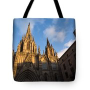 Barcelona's Marvelous Architecture - Cathedral Of The Holy Cross And Saint Eulalia Tote Bag