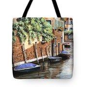 Barche A Venezia Tote Bag