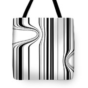 Barcode  C2014 Tote Bag by Paul Ashby