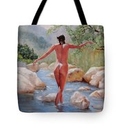 Bare Reflections Tote Bag