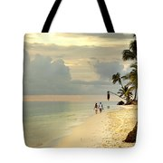 Barefoot On The Beach Tote Bag