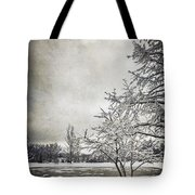 Barely Frozen Tote Bag