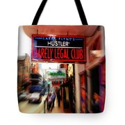 Barely Legal Tote Bag