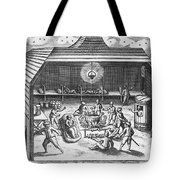 Barents Expedition Wintering In Arctic Tote Bag