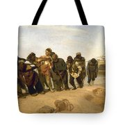 Barge Haulers On The Volga Tote Bag
