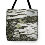 Bark Of Paper Birch Tote Bag