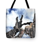 Bark To The Sky Tote Bag