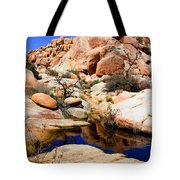 Barker Dam Big Horn Dam By Diana Sainz Tote Bag