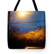 Barksdale Blue And Yellow  Tote Bag