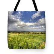 Barley View  Tote Bag