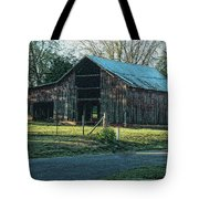 Barn 1 - Featured In Old Building And Ruins Group Tote Bag