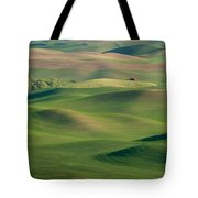 Barn Among The Contours Tote Bag