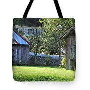 Barn And Chicken Coop Tote Bag