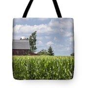 Barn And Corn Tote Bag